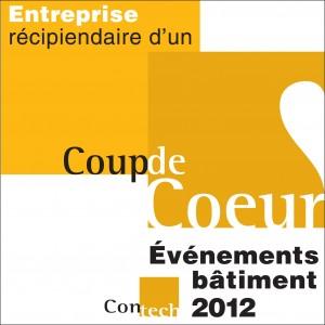 Coup de coeur 2012