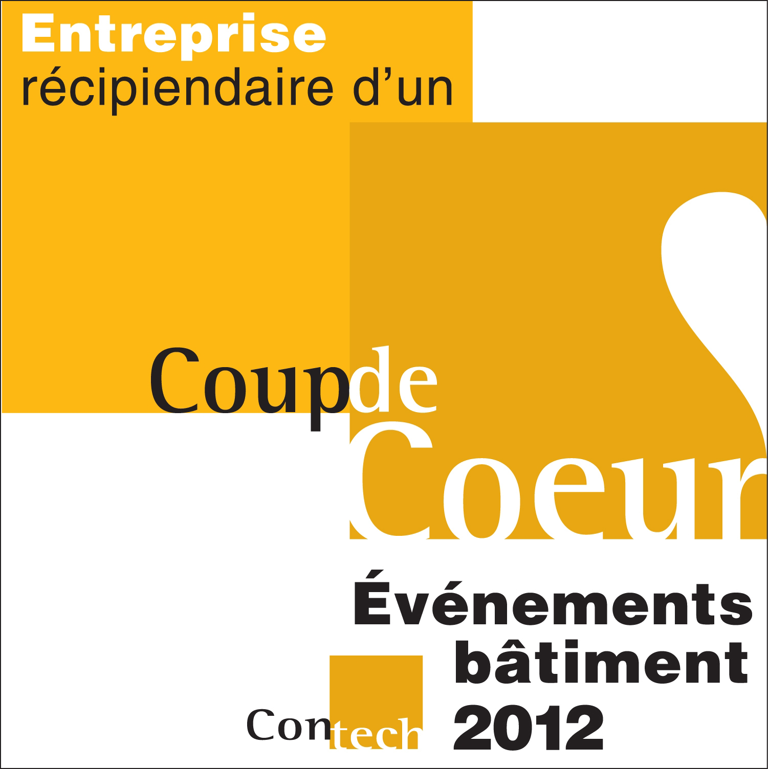 Winner of the montreal coups de coeur prize of 2012 - Coup de coeur in english ...