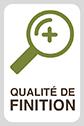 QUALITÉ DE FINITION